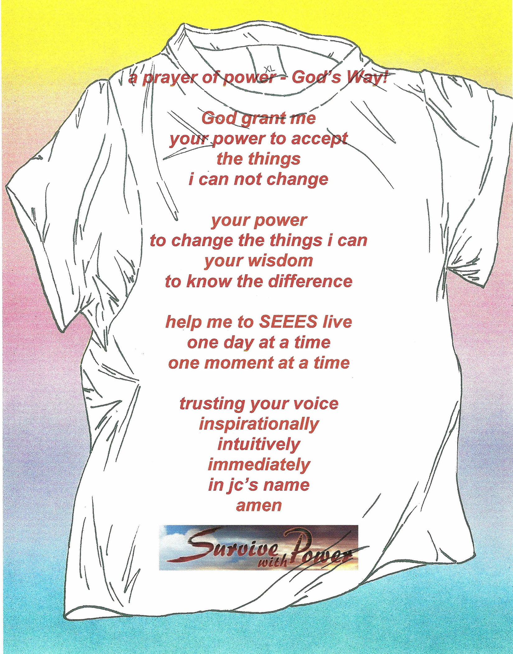 POWER-T-Shirt-Clr-a-prayer-of-Power-God's-Way-small