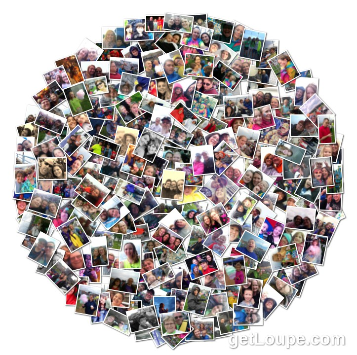 Collage of Selfies
