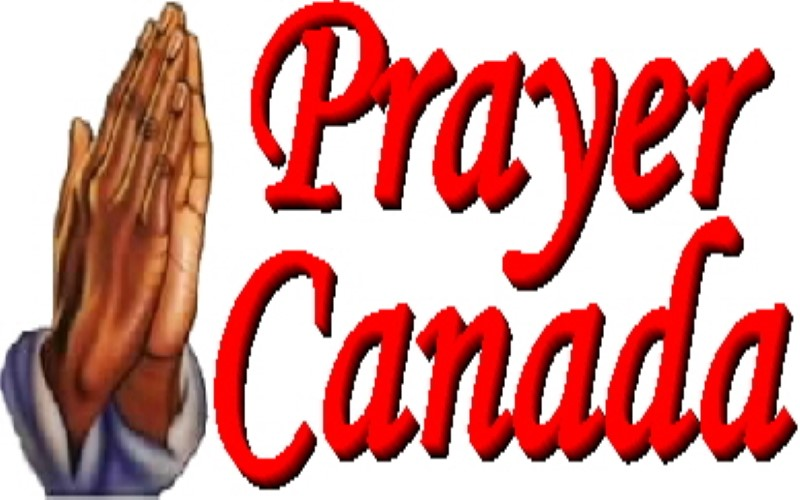 Hands Praying in Canada